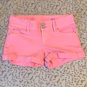 LILLY PULITZER Distressed Pink Shorts